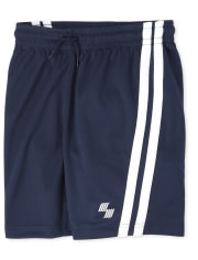 Boys Mix And Match Side Stripe Performance Basketball Shorts