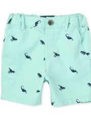 Baby And Toddler Boys Dino Chino Shorts