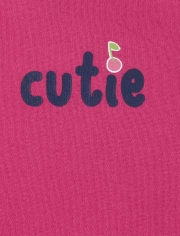 Baby Girls Cherry Graphic Bodysuit 5-Pack