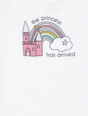 Baby Girls Princess 3-Piece Playwear Set