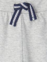 Baby Boys Side Stripe Jogger Pants 2-Pack