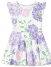 Baby And Toddler Girls Floral Dress