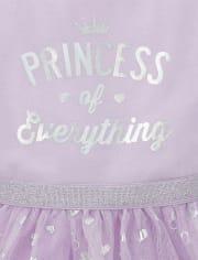 Baby And Toddler Girls Foil Princess Tutu Dress
