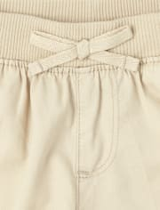 Baby And Toddler Girls Pull On Shorts
