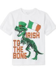 Boys Irish Dino Graphic Tee