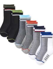 Toddler Boys Crew Socks 6-Pack