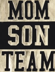Baby And Toddler Boys Matching Family Foil Team Graphic Tee