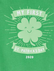 Unisex Baby My First St Patrick's Day 2020 Graphic Bodysuit