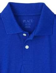 Boys Uniform Jersey Polo