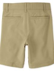 Boys Uniform Quick Dry Chino Shorts