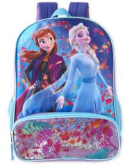 Toddler Girls Disney Frozen 2 Shakey Anna And Elsa Backpack