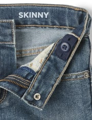 Jeans ajustados elásticos para niños