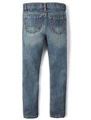 Boys Stretch Skinny Jeans