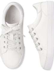 Girls Uniform Low Top Sneakers