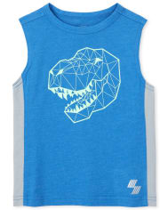 Baby And Toddler Boys Mix And Match Puff Print Muscle Tank Top