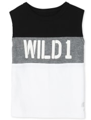 Baby And Toddler Boys Mix And Match Wild Muscle Top