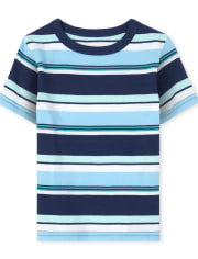 Baby And Toddler Boys Mix And Match Striped Top