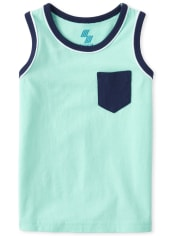Baby And Toddler Boys Mix And Match Pocket Tank Top