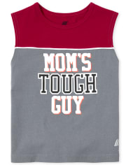 Baby And Toddler Boys Mix And Match Graphic Muscle Tank Top