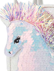Girls Flip Sequin Unicorn Mini Backpack