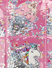 Girls Shakey Unicorn Mini Backpack