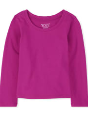 Baby And Toddler Girls Basic Layering Tee