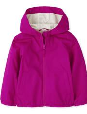 Toddler Girls Uniform Windbreaker Jacket