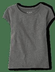Girls Uniform Basic Layering Tee