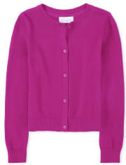 Girls Uniform Cardigan