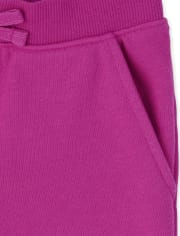 Girls Uniform Active French Terry Shorts