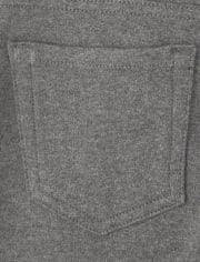 Girls Uniform Ponte Knit Jeggings