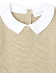 Vestido de suéter 2 en 1 uniforme para niñas