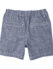 Baby And Toddler Boys Crosshatch Chino Shorts