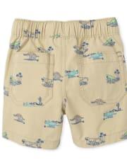 Pantalones cortos tipo jogging Dino Pull On para bebés y niños pequeños