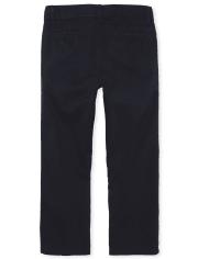 Boys Uniform Chino Pants 5-Pack