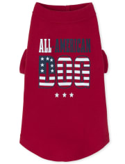 Dog Matching Family Americana All American Graphic Tee