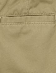 Baby And Toddler Boys Uniform Chino Shorts 2-Pack