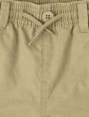 Baby And Toddler Boys Uniform Pull On Cargo Pants