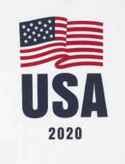 Unisex Baby Matching Family USA Olympics Graphic Bodysuit