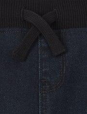 Boys Pull On Denim Shorts