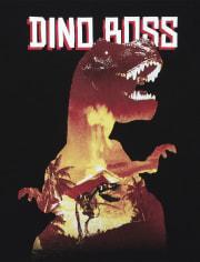 Boys Dino Boss Graphic Tee