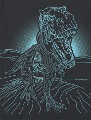 Boys Dino Graphic Tee