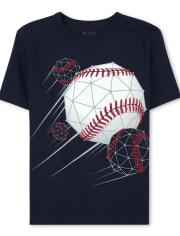Boys Baseball Graphic Tee
