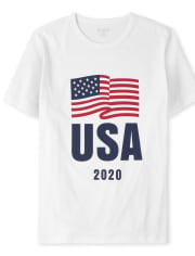 Mens Matching Family USA Olympics Graphic Tee