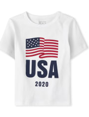 Baby And Toddler Boys Matching Family USA Olympics Graphic Tee
