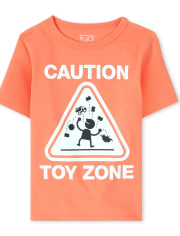 Baby And Toddler Boys Toy Zone Graphic Tee