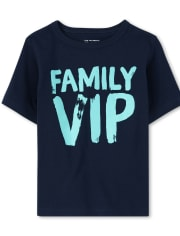 Baby And Toddler Boys VIP Graphic Tee