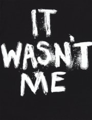 Baby And Toddler Boys It Wasn't Me Graphic Tee