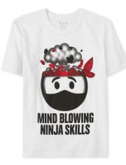 Boys Ninja Graphic Tee