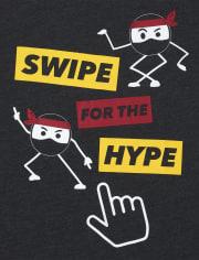 Boys Hype Ninja Graphic Tee